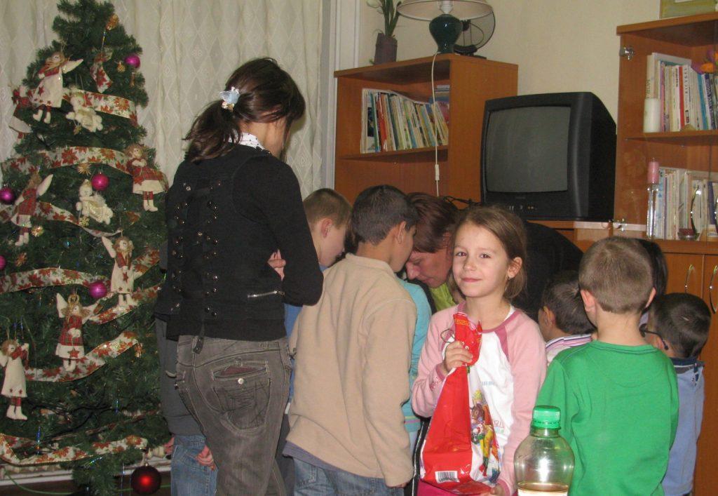 Dom Svätej Alžbety - Mikuláš 2011
